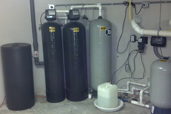 Water softening system versus water filtration