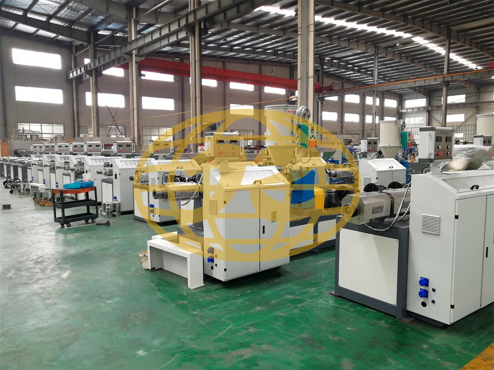 SJ-65 Single Screw Extruder for Melt Blown Fabric